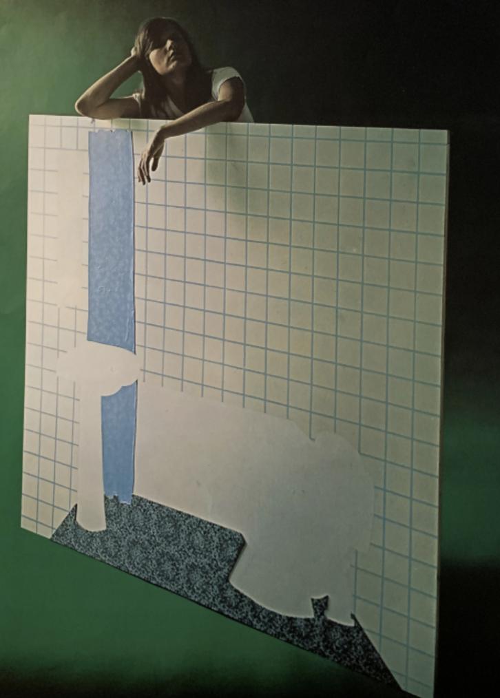 EVA Weis Bentzon, udstilling Tranegaarden 1974